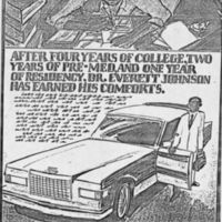 """Ford Thunderbird Mock-up."" Box 1. Folder: Black Consumer Market Research."
