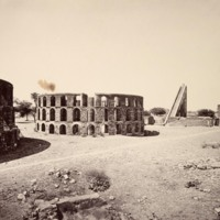 Delhi; The Observatory of Rajah Jey Singh<br />