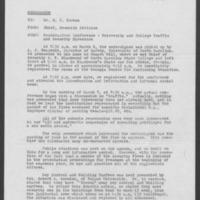 Duke University Archives, Office of President: Douglas M. Knight, Subject Files Box 22, 1963-69