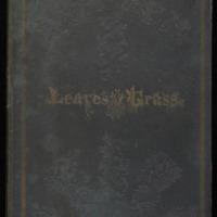 Walt Whitman. Leaves of Grass. Brooklyn, NY: [Walt Whitman], 1855. Cover.