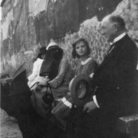 Doris and J.B. Duke traveling in Europe, 1923