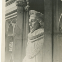 Statues on Exterior of Chapel; Duke University Archives