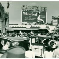 [Carstairs billboard], April 17, 1948.<br /> Maxwell No. 9232<br /> ROAD No. XXH2155