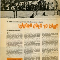 1962 Article on Camp Ramah, page 1.