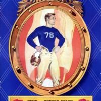 Rose Bowl Game Program, 1942