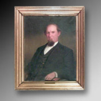 &quot;Thomas J. Jarvis, Oil on canvas, 35 1/8&quot;&quot; x 28 1/8,&quot;&quot; Artist Unknown<br />