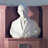 &quot;Benjamin N. Duke, Marble Bust<br />