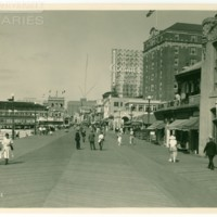 Boardwalk. [Colgate spectacular, daytime], July 10, 1922.<br /> Maxwell No. 1878<br /> ROAD No. XXX1009