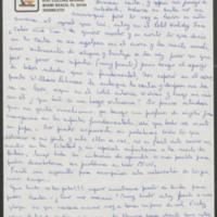 Letter, Nov. 5, 1981