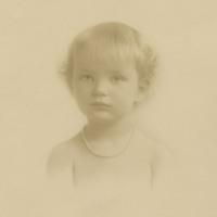Doris as a young girl.