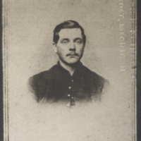 """Photograph of Reuben Farwell,"" undated, Walt Whitman Papers, Box 17."