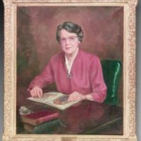 &quot;Bessie Whitted Spence, Oil on canvas, 36&quot;&quot; x 42,&quot;&quot; by Irene Price<br />