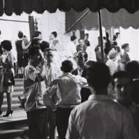 An evening cultural event in Havana, April 1964