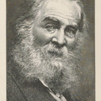 Walt Whitman, 1876.