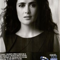 """Speak Out Against Domestic Abuse"" Oprah Magazine, October 2005. Halo Awards Records. Box 26. Folder 2"