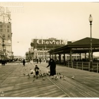 Central Pier. [Chevrolet spectacular], March 18, 1938.<br />