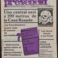 Nueva Presencia, 1986
