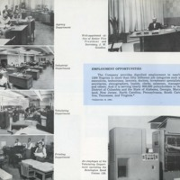 Mutual publication showcases work environment for new employees, 1950s