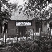 The Castro brothers went to the Birán primary school and later attended El Colegio de Belén, in Havana, an elite Jesuit boarding school, Holguín Province, December 1963