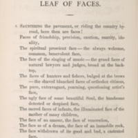 Walt Whitman, Leaves of Grass, Boston: Thayer and Eldridge, 1860.