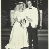 Dick and Norma White Wedding 1965; Duke University Chapel