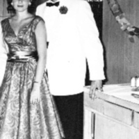 Marshall and Naomi Meyer just before setting sail for Buenos Aires in 1959.