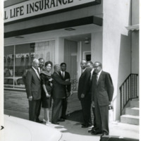 Ribbon cutting ceremony at Albany, Georgia satellite office, 1950s