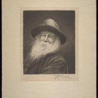 "Whittlesey E.  Kotz. ""Walt Whitman Camden N J Feb: 11 '87,"" 1887, original. Walt Whitman papers, Box 15."