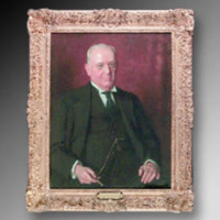 &quot;James A. Thomas, 1931, Oil on canvas, 27&quot;&quot; x 37,&quot;&quot; by Douglas Chandor<br />