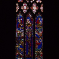 Noah and the Flood; Duke Chapel Illuminated