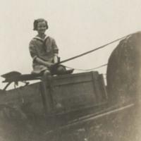 Doris at Duke Farms, circa 1920s