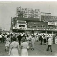 Steel Pier. [General Motors spectacular], July 4, 1948.<br /> Maxwell No. 8619<br /> ROAD No. XXH1368