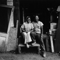 Joe and Mina Velez, second generation Hawaiian- Puerto Ricans, Big Island, HI 1981