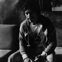 Walter in Shinka House, a drug rehabilitation half-way house, Honolulu, HI 1981