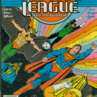 Justice League International no. 10, Feb., 1988