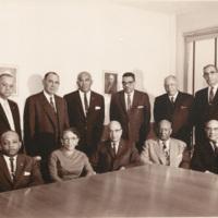 N.C. Mutual Board of Directors, 1961