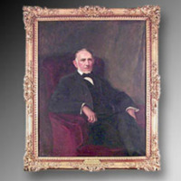 &quot;Washington Duke, 1925, Oil on canvas, 40&quot;&quot; x 50,&quot;&quot; by John da Costa<br />