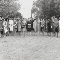 Wives of N.C. Mutual executives and descendants of founders
