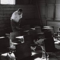 Searching for the desk of Fidel Castro, Birán, Holguín Province, December 1963