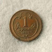 Austrian coin-back view-1897