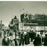 [Hamid&#039;s Pier; Philip Morris spectacular, daytime], circa 1941.<br /> Maxwell No. 6344<br /> ROAD No. XXH0891