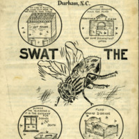 Swat the Fly medical brochure produced by the Mutual medical department, 1920s