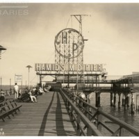 Million Dollar Pier. [Hamid&#039;s M. D. Pier spectacular], July 3, 1938.<br />