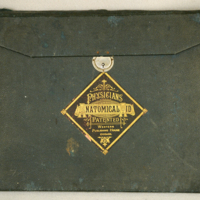 Physicians' anatomical aid : patented,(image of cover)[ca. 1880-1890].