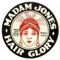 Madame Jones Hair Glory cosmetic label