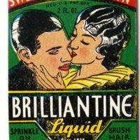 Sweet Georgia Brown Brilliantine Liquid label