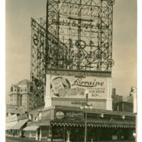 Kentucky Ave. and Boardwalk. [Lorraine Hair Nets spectacular, daytime], November 8, 1923.<br /> Maxwell No. 3028<br /> ROAD No. XXX2180