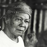 A woodworker, Saipan 1990