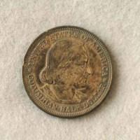 Columbian halfdollar (front) 1893