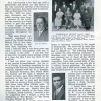Article published on the Mutual office in Florida, 1923
